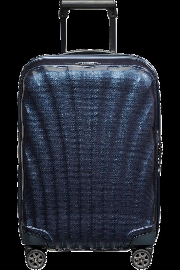 Samsonite C-Lite Spinner Expandable 55cm  Midnattsblå