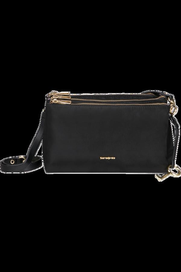 Samsonite Skyler Pro Horizontal Shoulder Bag 3 Comp S  Svart