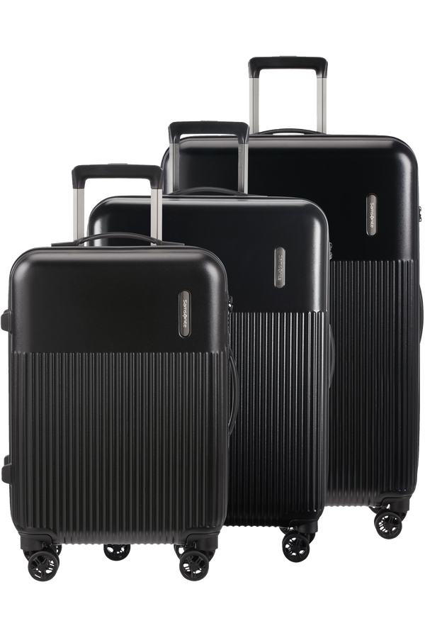 Samsonite Rectrix 3 PC SET A  Matte Black