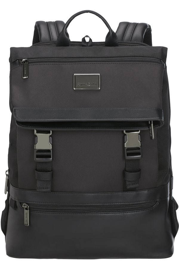 Samsonite Waymore Laptop Backpack Flap Slim  15.6inch Svart