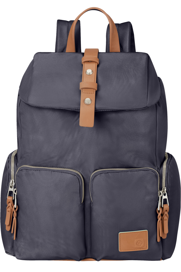 Samsonite Yourban Laptop Backpack + Flap  14.1inch Cloudy Blue