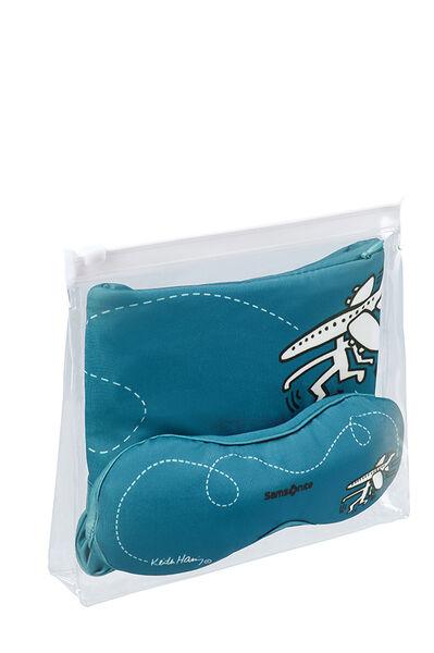 Travel Accessories Toalettveske Travel Pattern Blue