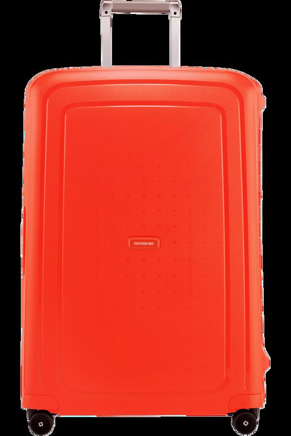 Samsonite S'Cure Spinner 75cm  Fluo Red Capri
