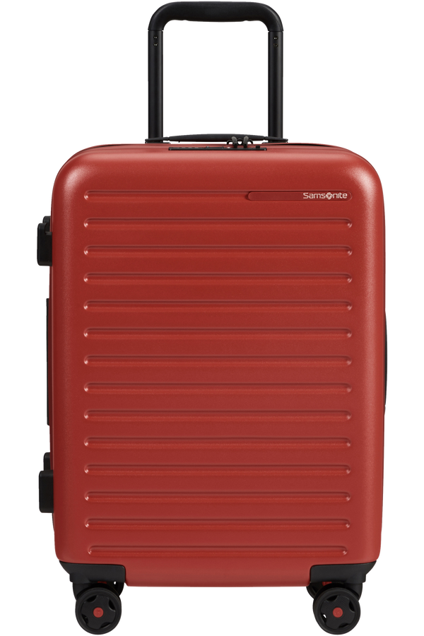 Samsonite Stackd Spinner Expandable 55cm  Rød