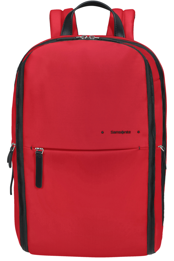 Samsonite Overnite Daytrip Backpack + SH.Comp  Klassisk rød