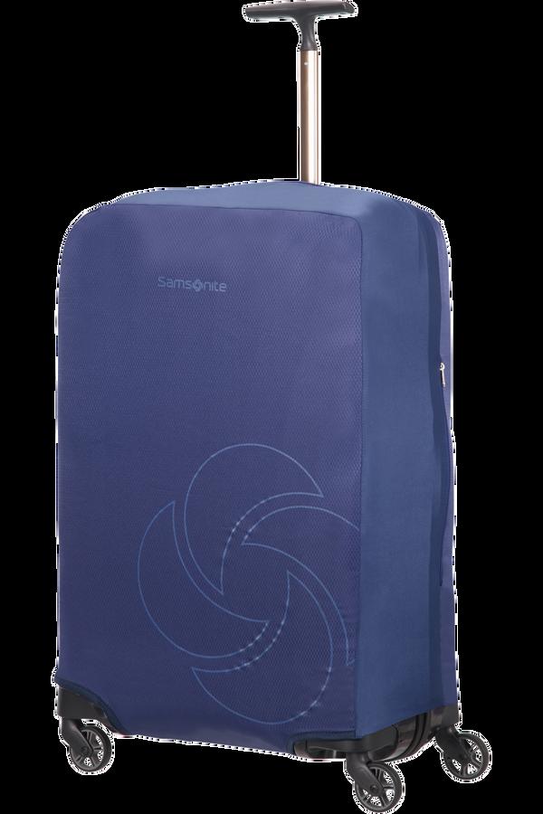 Samsonite Global Ta Foldable Luggage Cover M/L Midnattsblå