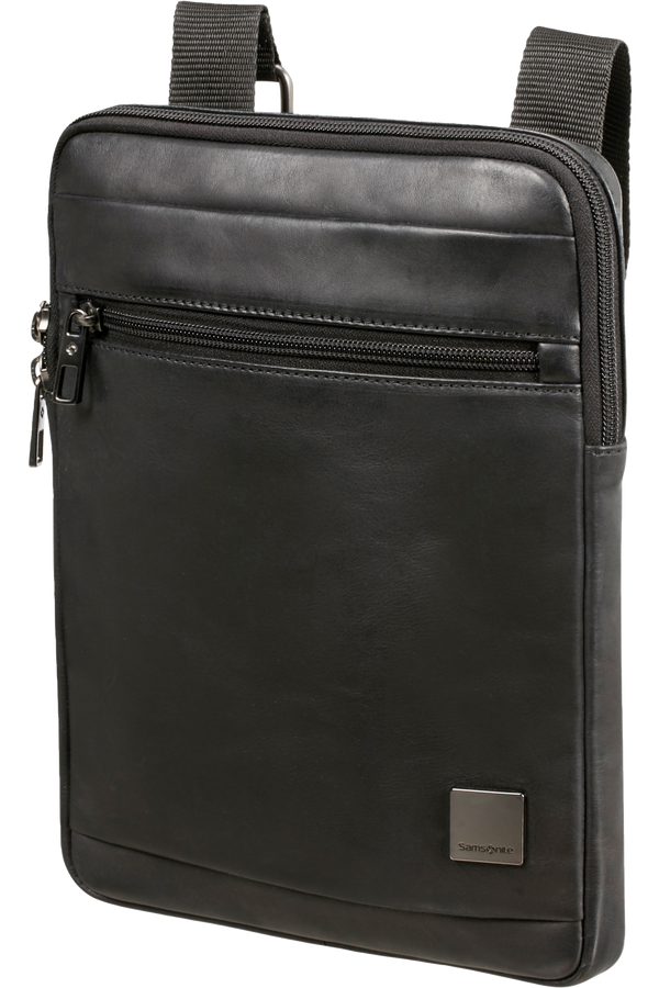 Samsonite Hip-Square Lth Flat Tabl.Cr.Over L  9.7inch Svart
