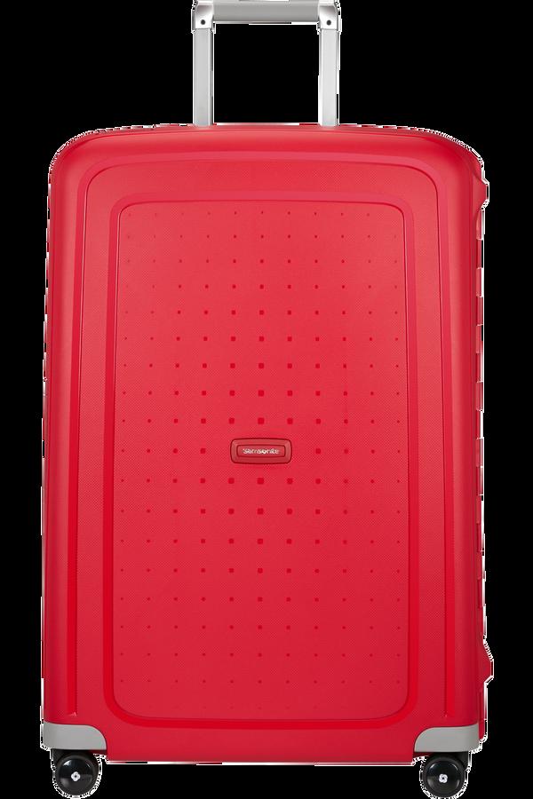 Samsonite S'Cure Spinner 75cm Crimson Red