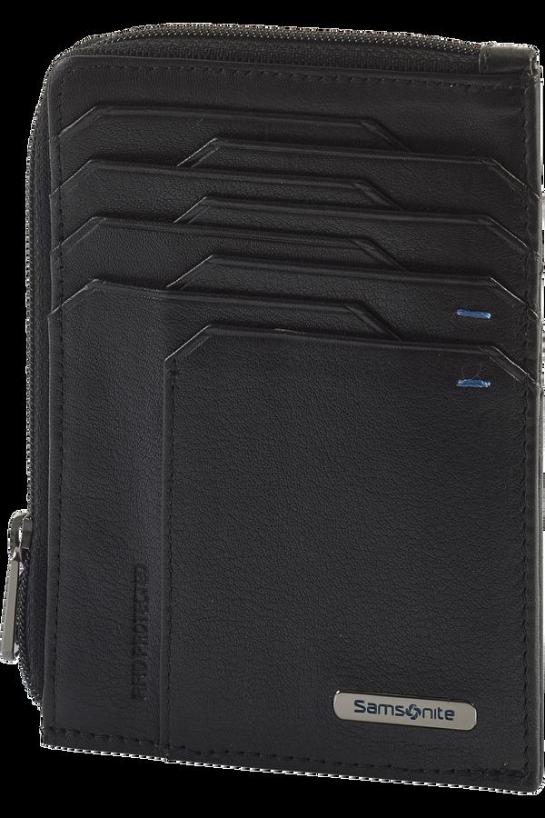Samsonite Spectrolite Slg All In One Wallet Zip  Black/Night Blue