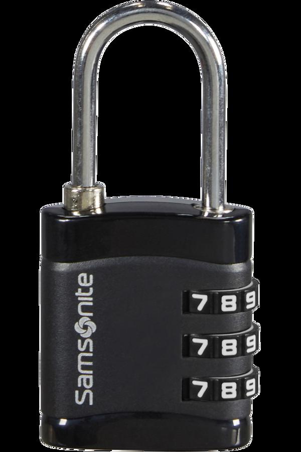 Samsonite Global Ta Combilock 3 dial light Svart