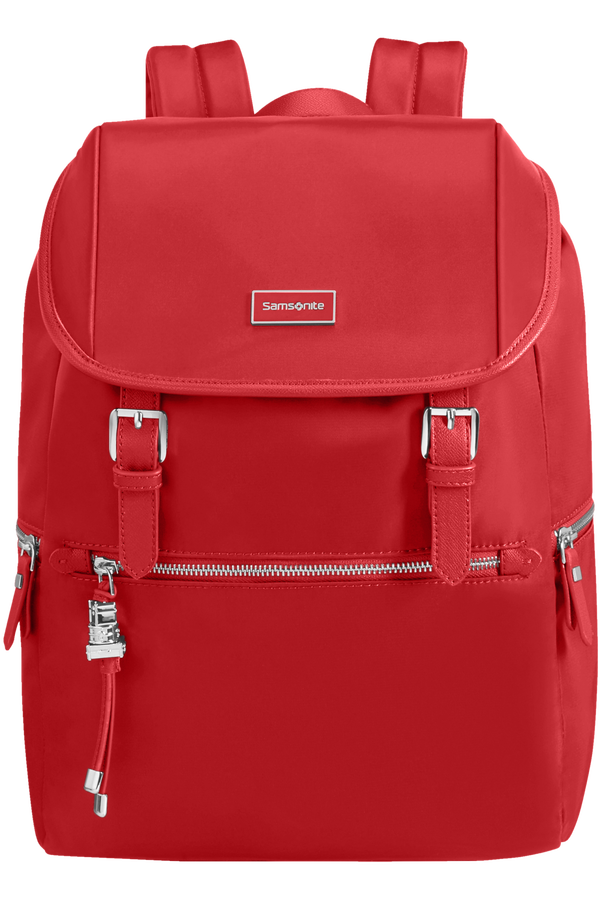Samsonite Karissa Biz Backpack +Flap  14.1inch Formula Red