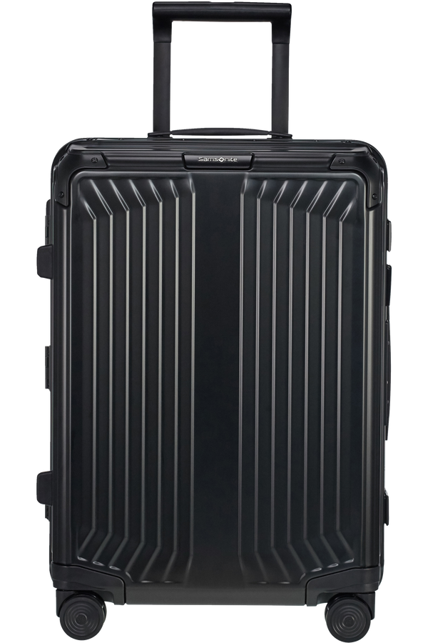 Samsonite Lite-Box Alu Spinner 55cm  Svart