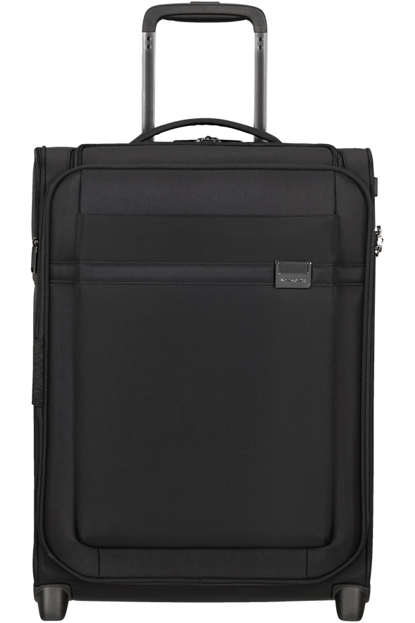 Samsonite Airea Upright Expandable Toppocket 55cm  Svart