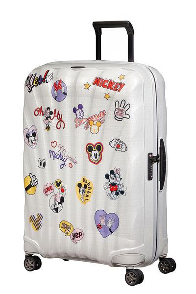 C-Lite Disney Koffert med 4 hjul 75cm