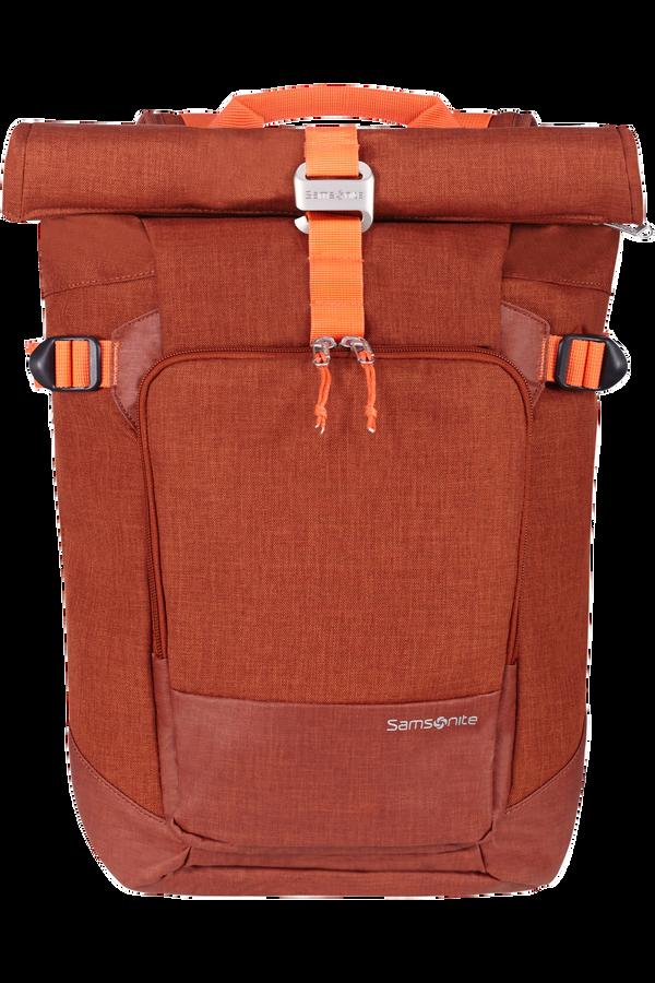 Samsonite Ziproll Laptop Backpack S  Brent oransje