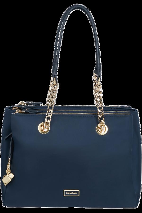 Samsonite Karissa 2.0 Shopping Bag 3 Compartments  Midnattsblå