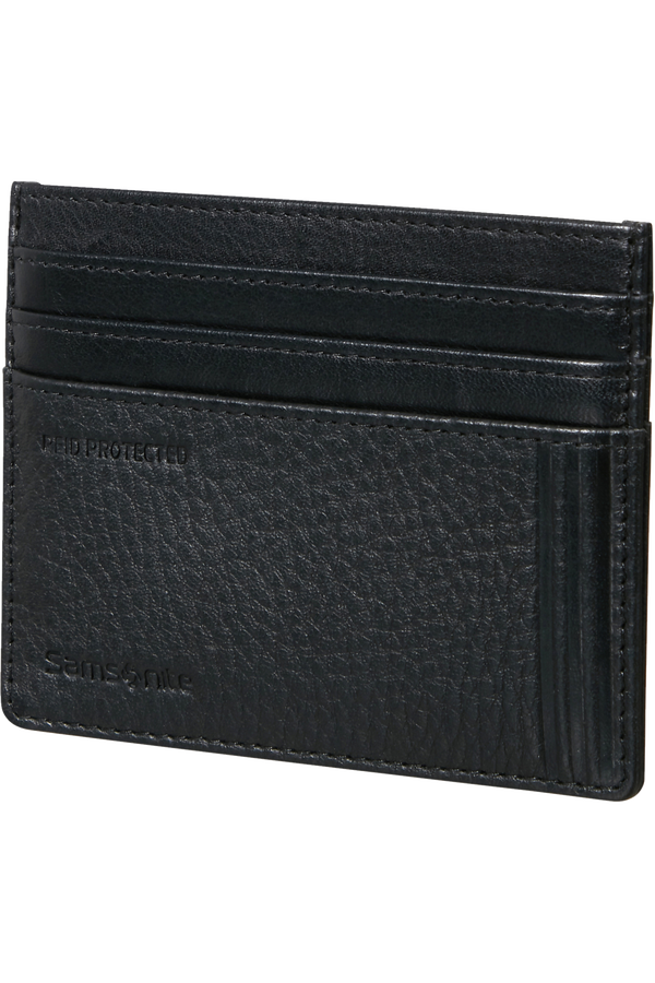 Samsonite Double Leather Slg 732 - 6CC H S  Svart