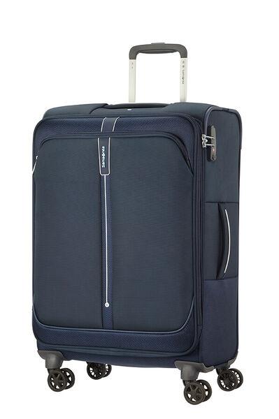Popsoda Utvidbar koffert med 4 hjul 66cm