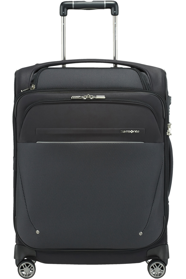 Samsonite B-Lite Icon Spinner Exp. Toppocket 55cm  Svart