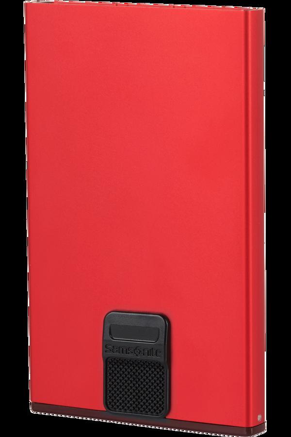Samsonite Alu Fit 201 - Slide-up Case  Rød