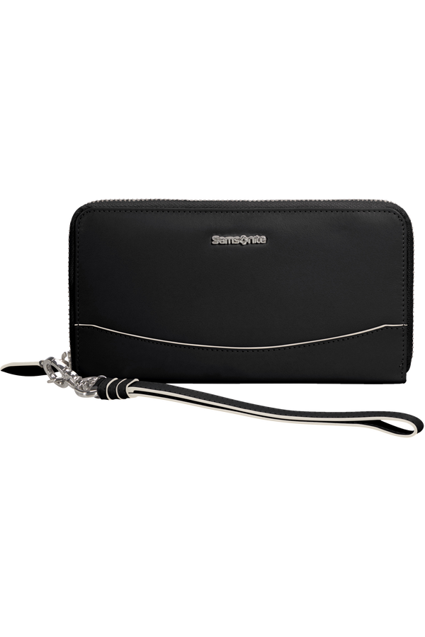 Samsonite Leathy Slg 319 - L Zip Around L  Svart