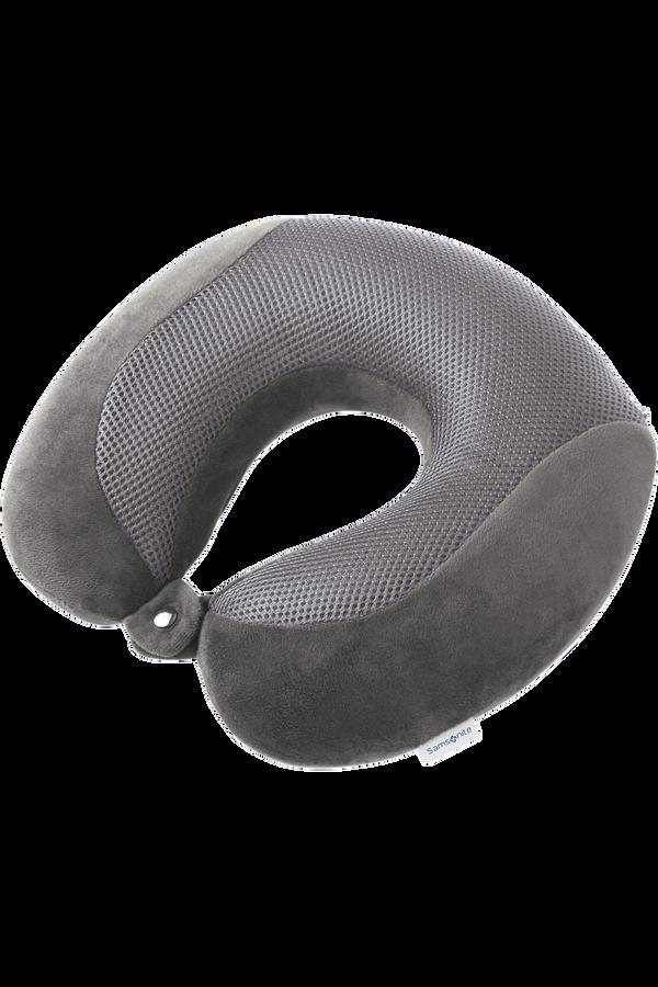 Samsonite Global Ta Memory Foam Pillow Cooler Formørkelsesgrå