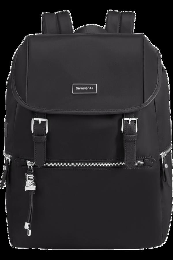 Samsonite Karissa Biz Backpack 14.1'+Flap W/Usb  Svart