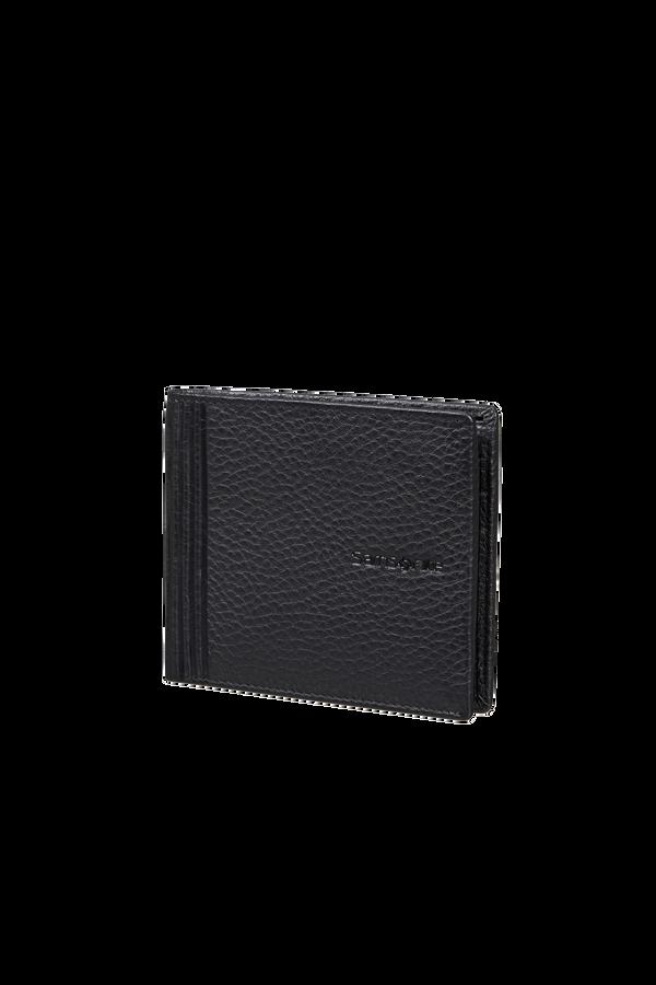 Samsonite Double Leather Slg 001 - B S 6CC+2C  Svart