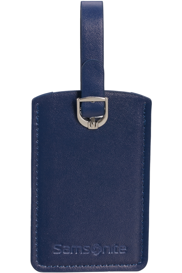 Samsonite Global Ta Rectangle Luggage Tag x2 Midnattsblå