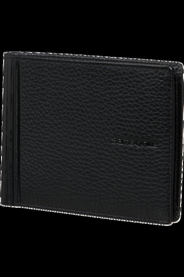 Samsonite Double Leather Slg 015 - B 4CC+2C+C  Svart
