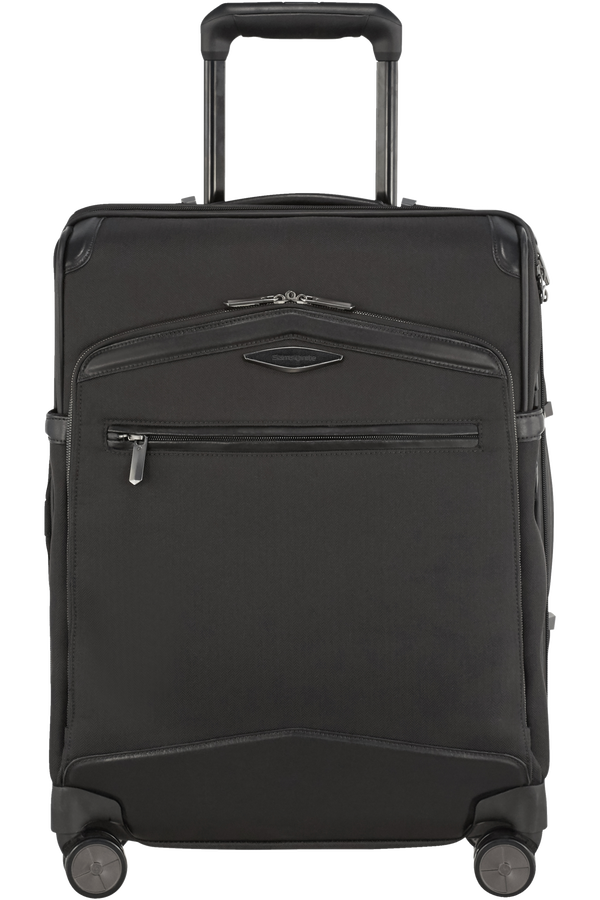 Samsonite Selar Spinner Expandable USB 55cm  Svart