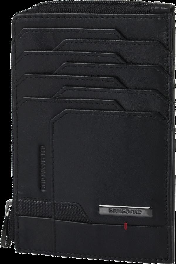 Samsonite Pro-Dlx 5 Slg 727-All in One Wallet Zip  Svart