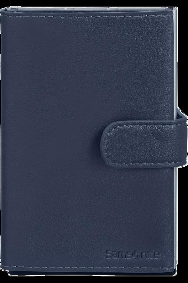 Samsonite Alu Fit 202 - Slide-up Wallet  Blå