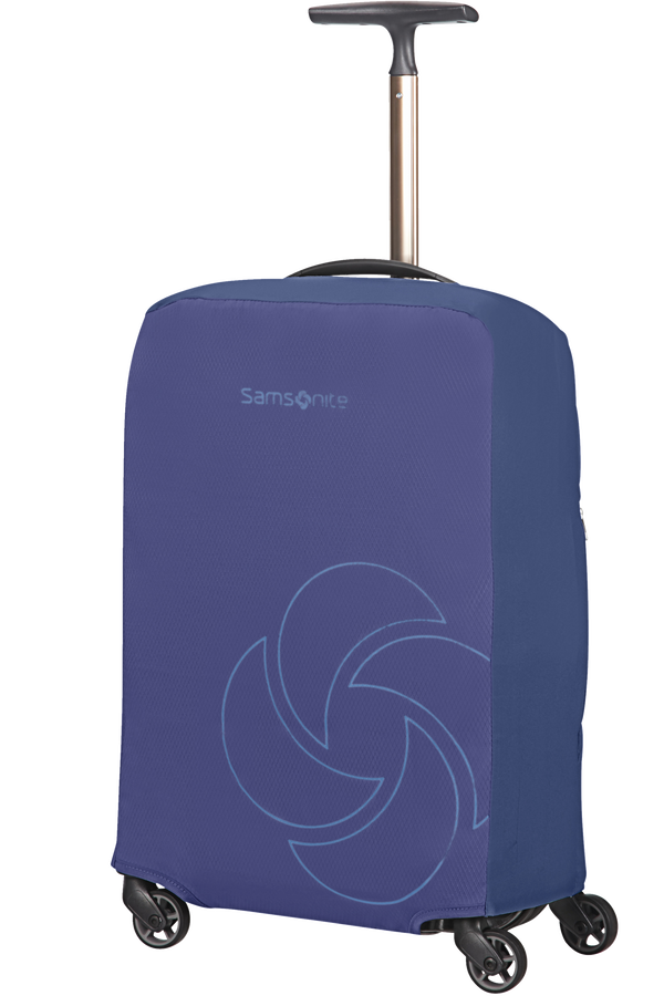 Samsonite Global Ta Foldable Luggage Cover S  Midnattsblå