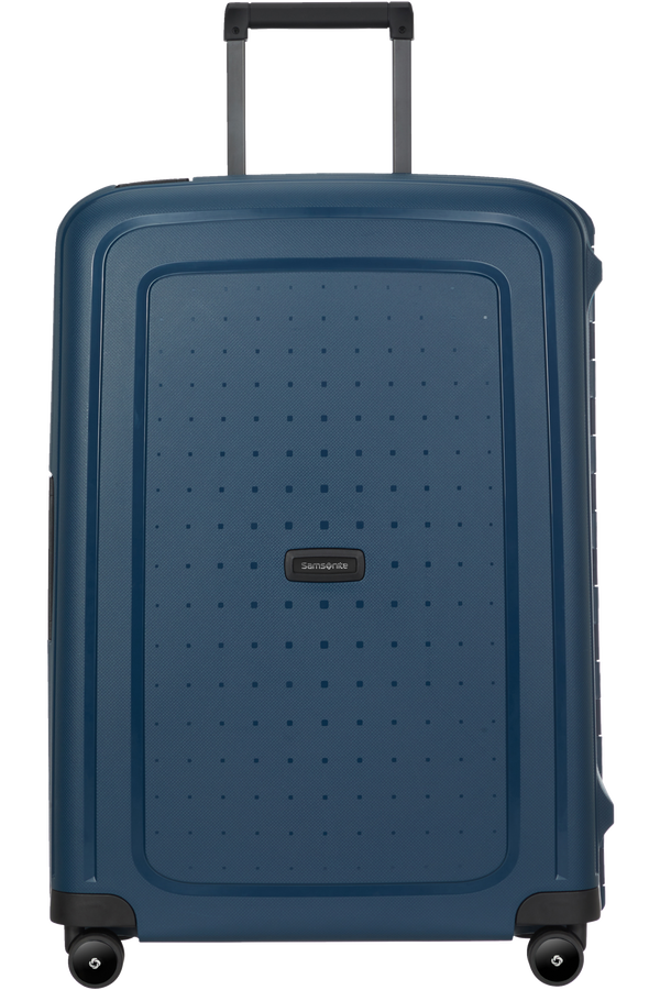 Samsonite S'cure Eco Spinner Post Consumer 69cm  Marineblå