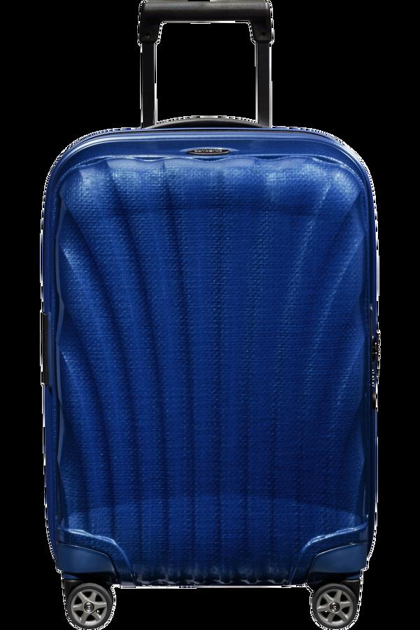 Samsonite C-Lite Spinner Expandable 55cm  Dyp blå