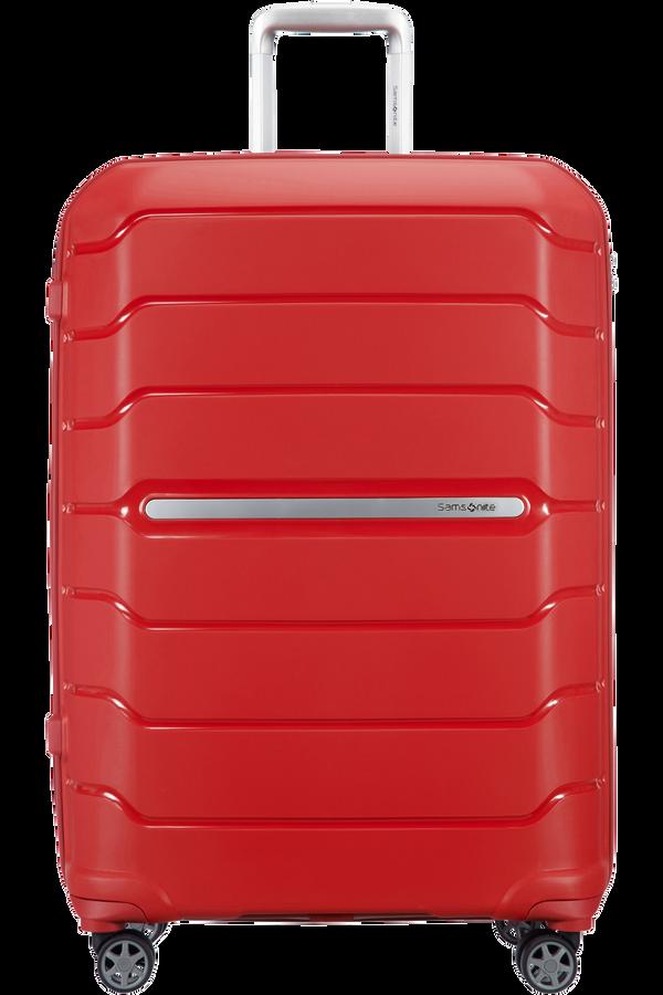 Samsonite Flux Spinner Expandable 75cm  Rød