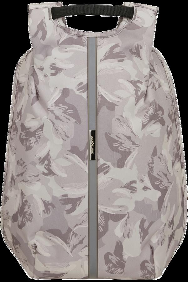 Samsonite Securipak S Laptop Backpack Print 14.1'  Lilac Grey/Camo