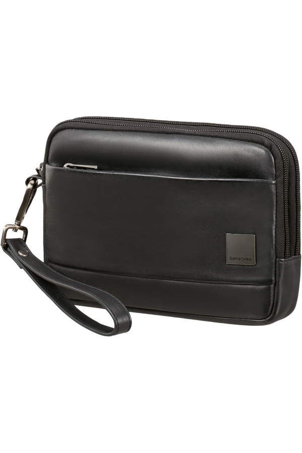 Samsonite Hip-Square Lth Clutch S 2c  Svart