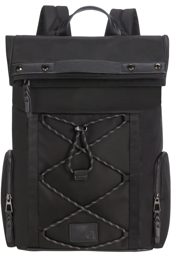Samsonite Yourban Backpack + Flap  15.6inch Svart