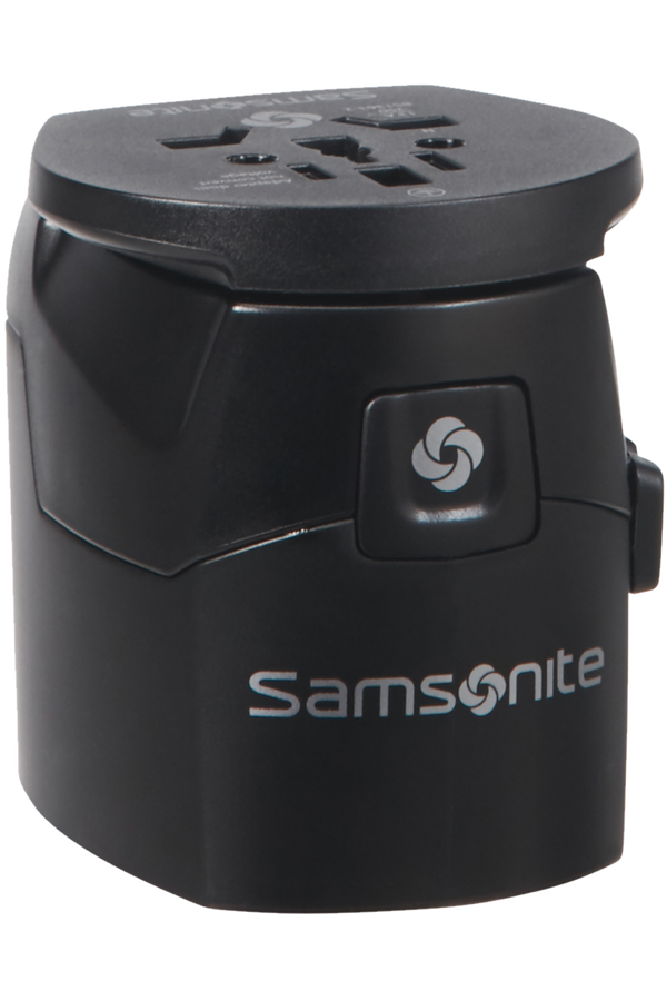 Samsonite Global Ta Worldwide Adapter Svart