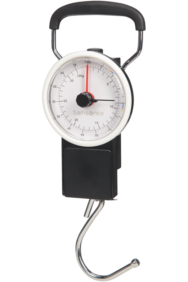 Samsonite Global Ta Manual Scale Svart
