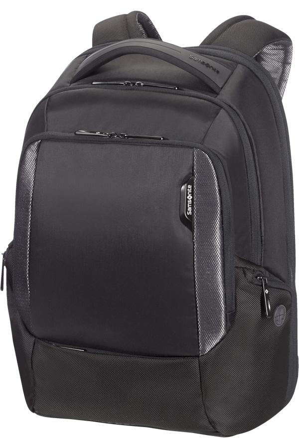 Samsonite Cityscape Tech Laptop Backpack Expandable 43.9cm/17.3inch Svart