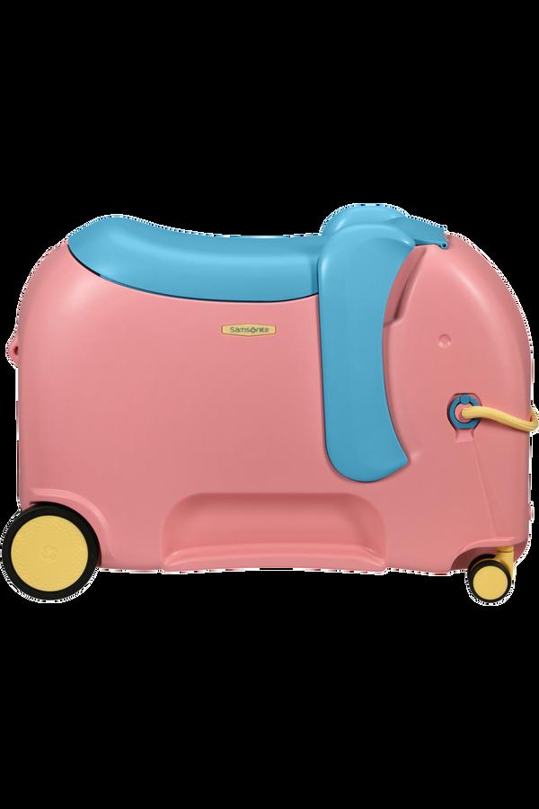 Samsonite Dream Rider Deluxe Ride-On Spinner Elephant  Elephant Pink
