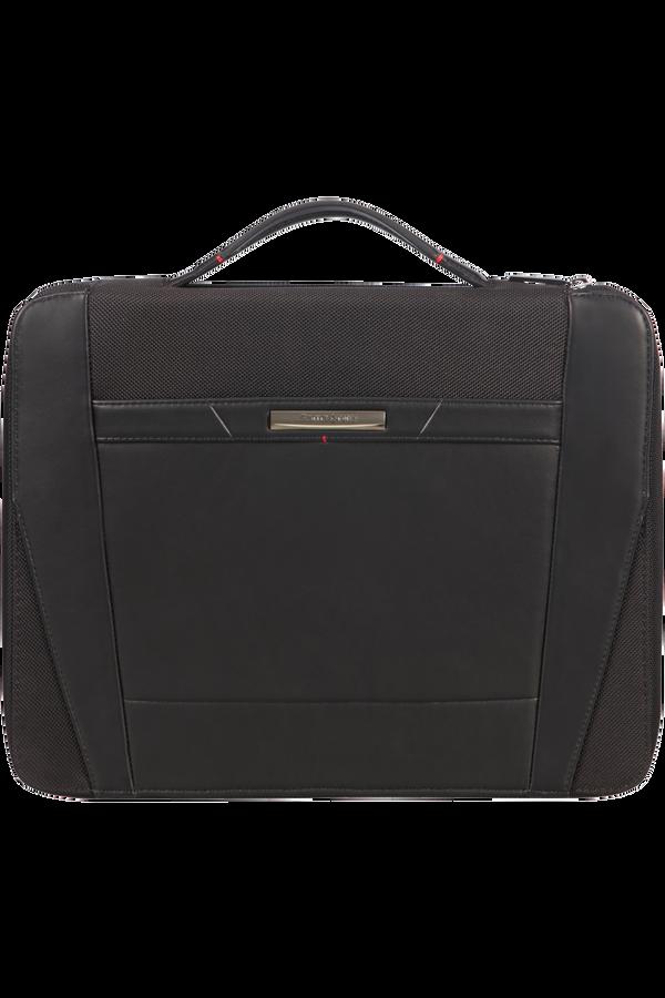 Samsonite Stationery Pro-Dlx 5 Zip Folder A4 Top H+Det B  Svart