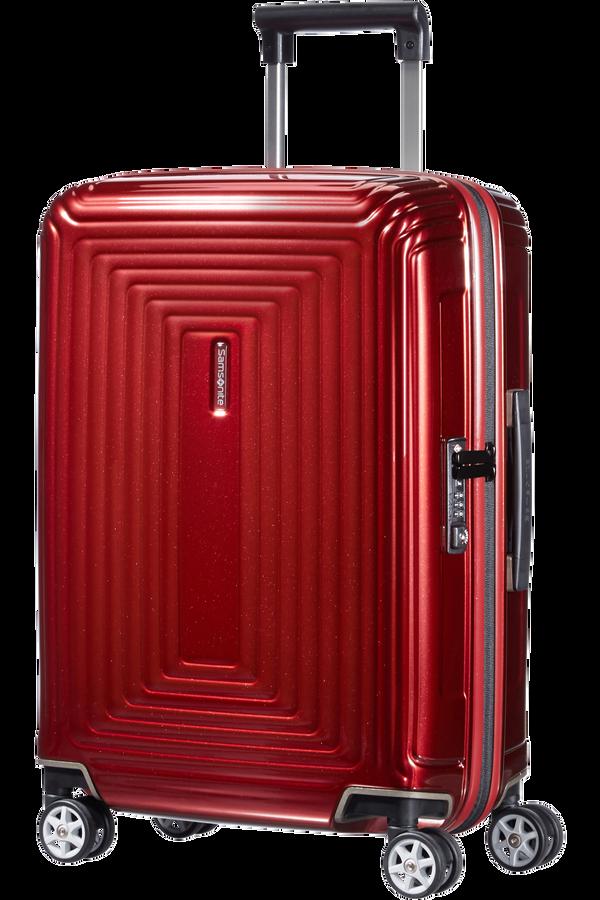 Samsonite Neopulse Spinner 55cm Rød metallic