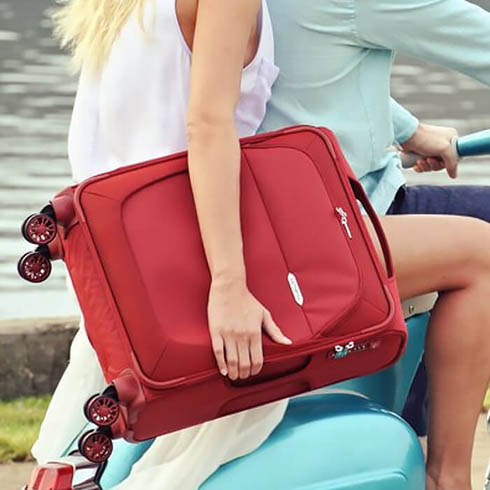 When in doubt, travel in red.
