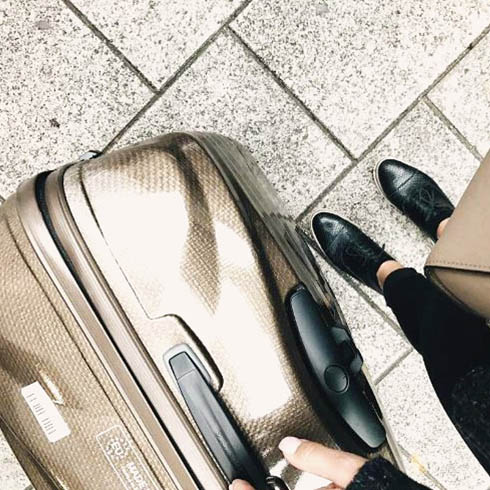 Lite-Shock, a suitcase like no other.