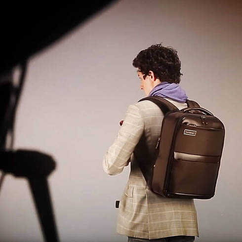 Samsonite Business-kampanje: backstage med Giovanni Gastel