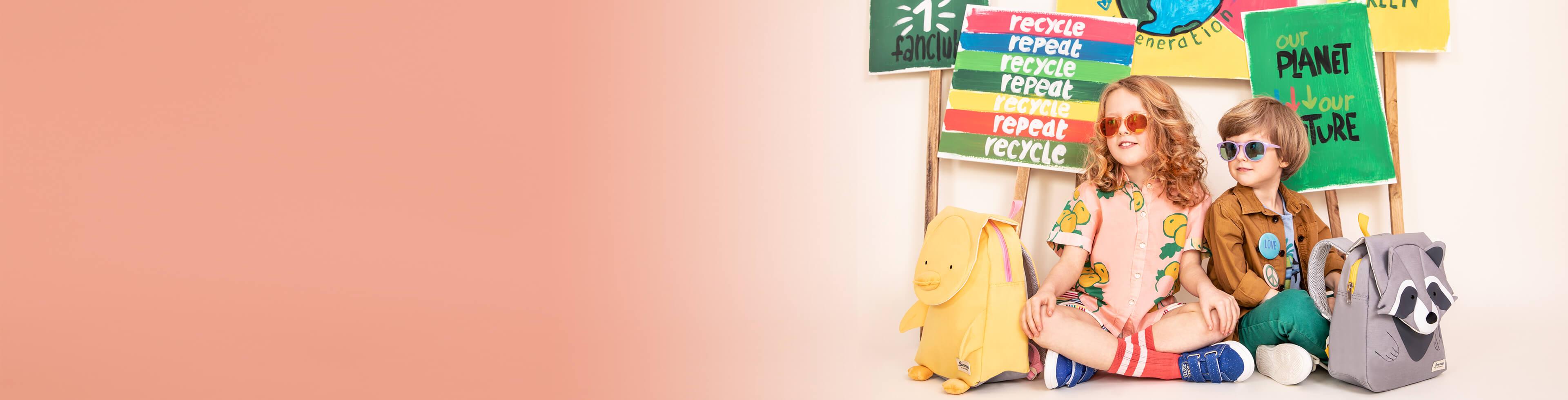 Miljøvennlig reiseutstyr til barn